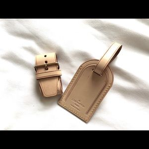 Louis Vuitton Vachetta Luggage Tag